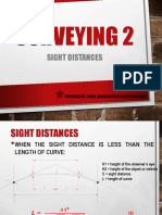 10. Sight Distance
