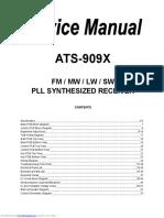 SANGEAN ATS-909X Service Manual