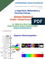 Unidad 1 Espectrometría IR (P.1 2S 2018 Q.O.ii UMG)
