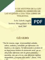 EXPOSICIÓN DE MOTIVOS DE LA LEY ORGÁNICA SOBRE.ppt
