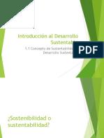 1.1. Conceptos Del Desarrollo Sustentable