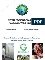 Interpretacion de La Norma Globalgap v.5 Cacp