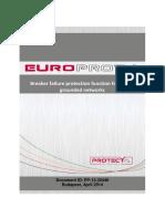 Short 01 Breaker Failure Protection Function HV