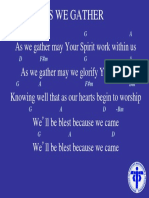 As we gather.ppt