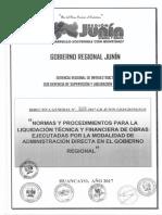 Directiva General N 008-2017-GR-JUNIN-GRJ GRI SGSLO - NORMAS Y PROCEDIMIENTOS PARA LA LIQUIDACI N T.pdf