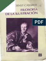 Cassirer Ernst Filosofia de La Ilustracion2
