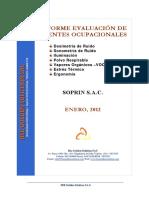 Informe Evaluacion de Agentes Ocupacionales Soprin 2