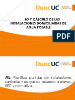 1.1.8 Cálculo y Diseño de La Red de Agua Potable