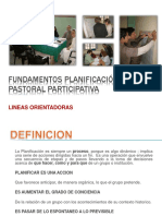 FUNDAMENTOS DE la planificacion Pastoral Participativa.pptx