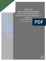 Sampul Depan Laporan Pertanggungjawaban Bok