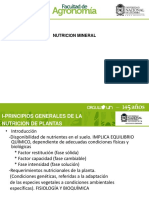 Nutrición Mineral de La Palma de Aceite