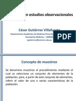 Muestreo Estudios Observacionales Precongreso