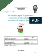 Monografia Gramatica Lexemas Morfemas Aplicada