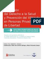 Promoción Del Derecho a La Salud y Prevención Del VIHsida en Personas Privadas de Libertad
