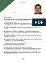 Cv Suresh Pavaiah Electrical Commissioning Engineer