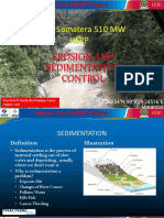 Erosion and Sedimentation Control Workshop