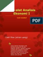 Alat-Alat Analisis Ekonomi I