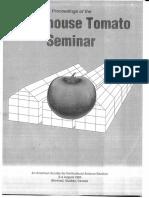 Greenhouse Tomato Seminar