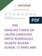 Tarea de Laura Carolina Ortiz Rodriguez Olarte Diaz Rivera Rojas...
