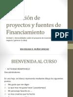 Evaluación de Proyectos y Fuentes de Financiamiento