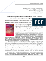 Understanding International Students from Asia in American Universities