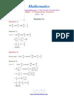 11 Maths NcertSolutions Chapter 3 3
