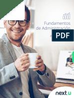Plan de Estudio Fundamentos de Administracion NEXTU