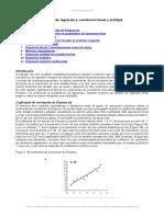 Analisis Regresion y Correlacion Lineal y Multiple