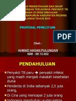 Ahmad Hasan -Proposal