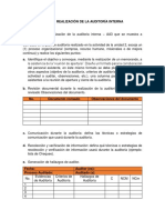 Taller Realizacion Auditoria Interna