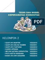 Klp 2 Ppt Teori Dan Model Keperawatan Komunitas