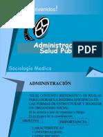 (12)Administración s.m.med.