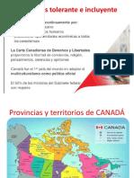 Exposición Canadá Estructura de Las Provincias Uss