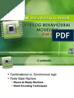 Week #6 - Verilog Behavioural Modeling (Part 4) FSM