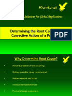 Determining the Root Cause