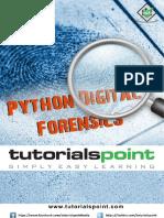 Python Digital Forensics Tutorial