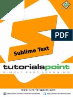 Sublime Text Tutorial