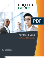 9 Advanced Excel Training Excel Next Classroom