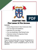 Ch 2 Fire Lanes FD Access