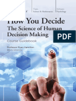 (The Great Courses) Ryan Hamilton-How You Decide_ The Science of Human Decision Making-The Teaching Company (2016).pdf