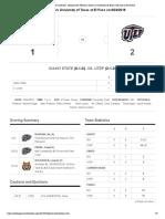 ISU vs UTEP Stats
