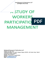 A STUDY OF WORKERS PARTICIPATION IN MANAGEMENT.doc