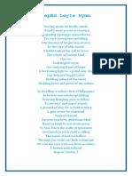 DepEd Leyte Hymn