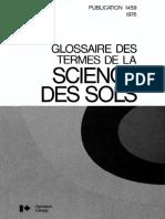 Glossaire_Science de Sol