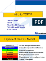 Intro to TCP-IP