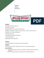 Krispy Kreme Case Study - PDF