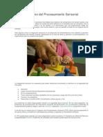 DAH y Trastorno Del Procesamiento Sensorial