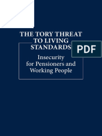 Tory Threat to Living Standards
