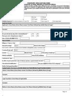 Passport Application Form Main English V1.0