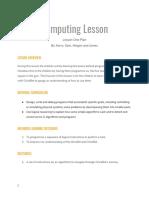 lesson plan computing-2